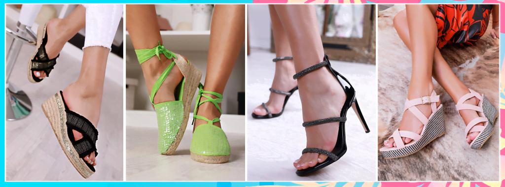 Стилни дамски обувки.