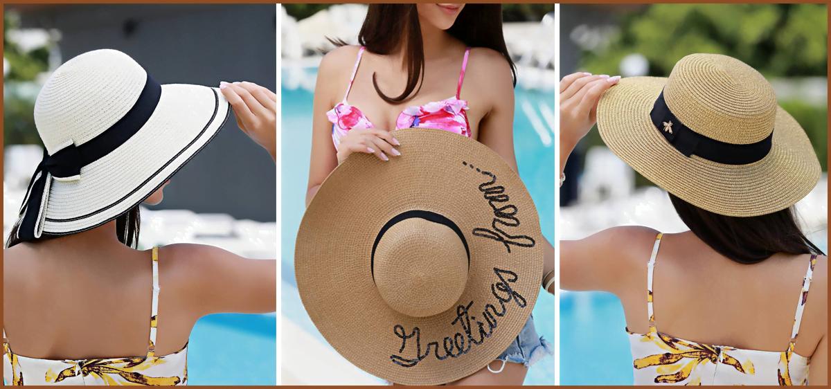 Дамска шапка за лятото